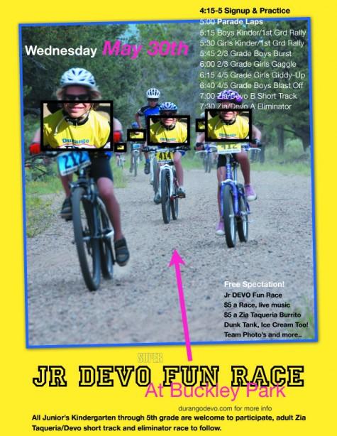 2012 JrDEVO Fun Race Poster