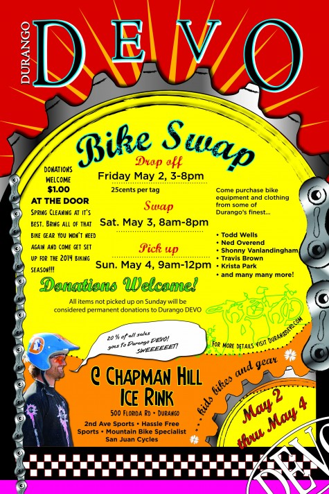 2014 Bike Swap poster