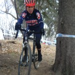 Annie's first race on her new Spot steed