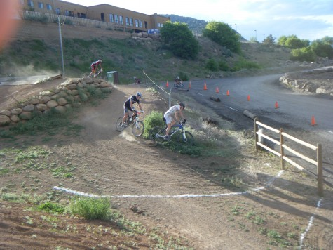 The BMX track had sweet terrain