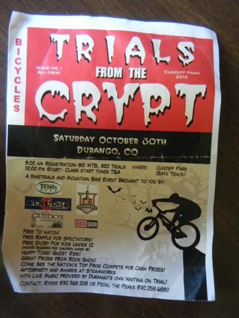 Coming to Durango Halloween weekend!