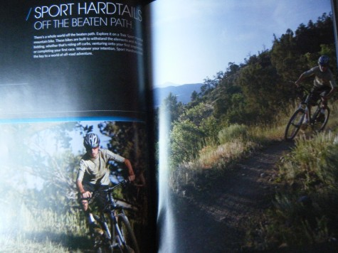Devo U19er Stephan Davoust made two pages in the 2011 product guide