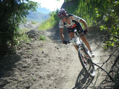 Alicia Rose Pastore defending her National Title in Sun Valley