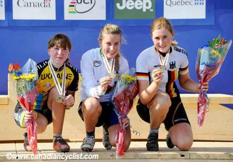 the 2010 podium