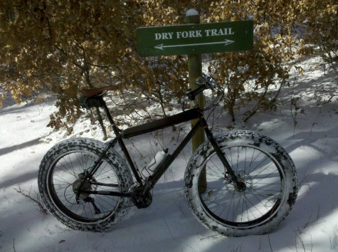 Go ahead and give it a try. This photo was taken on the Dry Fork Trail in Durango on November 22nd of this year.