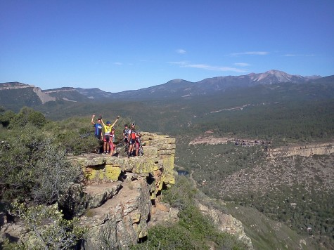 The U19ers and former U14 Coach Scott take in the view from atop Animas Mountain at practice this tuesday. The Devo teams will be competing in the Colorado State Championships this weekend. Wish em luck!