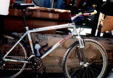 So sweet. Check out Devo board member Travis Browns first pro bike.