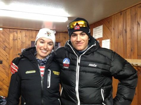 Alicia Rose and brother Gino Pastore pose for a shot in Vermont last month. Alicia is off at University of Vermont and is on the college ski team and Gino is at Stratton Academy where he is also on the Nordic team. Both are doing great and loving Vermont. Gino will return in June to ride with Devo and Alicia will be off traveling the world with her new pro mtb team, BMC Development. The Pastores' have been a staple in the Devo program since day one. Special thanks to Jeanne and Mark for the years of amazing support. 63% of the photos you see on this blog are from Jeanne. Thanks so much!