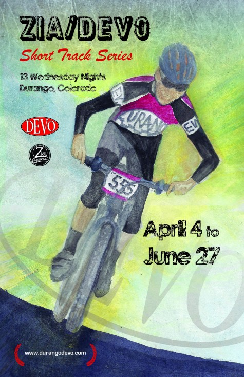 Thanks to Kamaljit Punja for the amazing poster. Cant wait to shred and thanks again to Tim at Zia Taqueria as he's always been a huge supporter of Durango Devo. Sweet bermed corners and tasty warm tacos go hand in hand.
