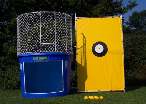 Thats right, its a dunk tank. Coaches beware!