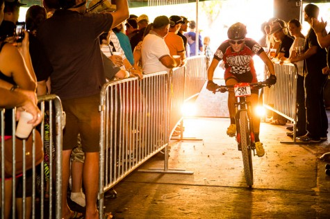 Devo U19er Emily Schaldach rode in the pro race for the first time at the IHBC! Photo by ALumni Dan Walker