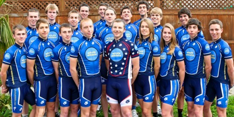 Califoria's Whole Athlete Cycling Team